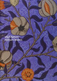 V&A Pattern: William Morris: (Hardcover with CD): Linda Parry: 9781851775842: Amazon.com: Books