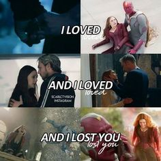 No no no dont you dare! If your kill Vision and that is Wanda's reaction.. No