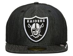 Denim Raiders 59Fifty Fitted Cap by NEW ERA x NFL