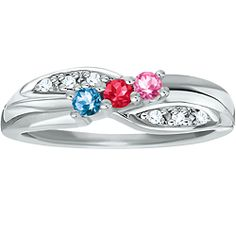 family ring....want in yellow gold   with my three childrens' birthstones