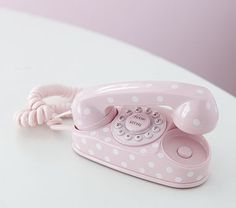 Polka Dot Phone - says unavailable online but it's still in Calgary at Pottery Barn Kids!