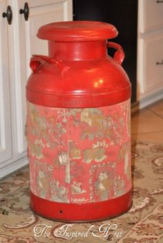 Old Milk Can | Milk Cans | Pinterest