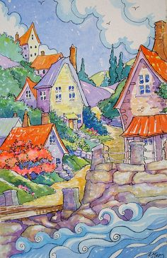 Spring Down on the Water Storybook Cottage Series | Flickr - Photo Sharing!