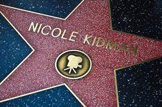 Nicole Kidman, walk of fame!