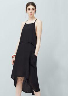 Side pockets dress - Dresses for Woman | MANGO United Kingdom