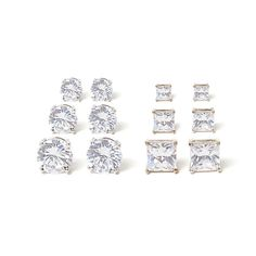 cz studs | charming charlie | #earrings #diamonds #affordable #studs