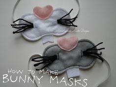 Amanda Moutos Designs: How to Make Bunny Masks {An Easter Craft}