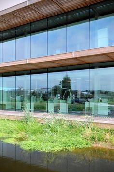 NIOO-KNAW - Wageningen - nieuwbouw laboratoria, kantoren en onderzoeksruimtes