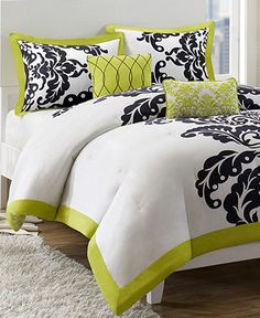 Mallorie 5 Piece Comforter and Duvet Cover Sets