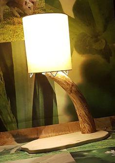 Tischleuchte Rustikal Design Treibholz Echtholz Handarbeit Lampe   Möbel & Wohnen, Beleuchtung, Lampen   eBay!