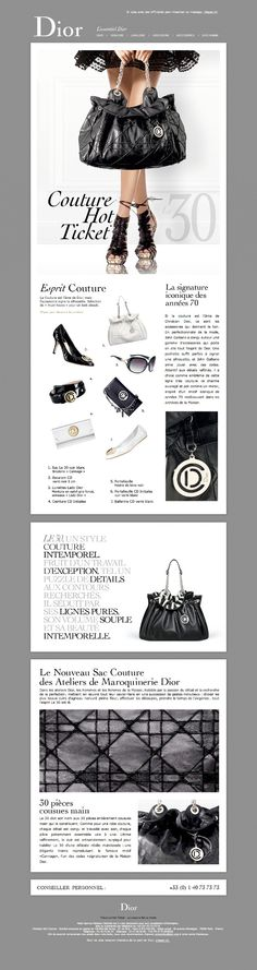 #emailing Dior