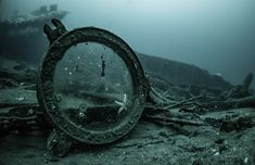 "Not completely broken (pictured around the HMS Defence which sank in 1916 - see comment for more on the Battle of Jutland) - neither am I, and I'm still afloat, so far, unlike these 893 poor victims of a senseless war (Endless Seas) (via rachel oliver | Aesthetic - "" https://flic.kr/p/PJXRth 