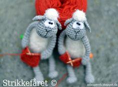 Knitting Sheep Amigurumi - FREE Crochet Pattern / Tutorial