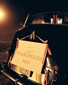 """See the """"Rolling Large"""" in our Wedding Getaway Car Ideas gallery"""