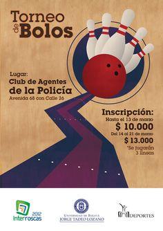 Torneo de Bolos de la Tadeo.