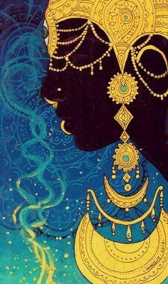 38 best Oshun - Orisha and Goddess Orisha, Pretty Pictures, Wallpaper Backgrounds, Color