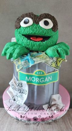 1000 Images About Sesame Street Cakes On Pinterest