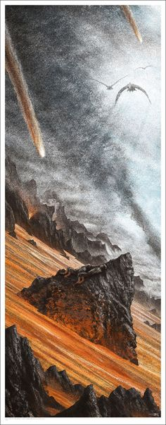 Gorgeous New 'Lord of the Rings' Poster Set from Mondo and JC Richards