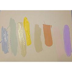Colour palette - delicious pastels… Follow artist Juju Roche on Instagram: jujusart www.jujuroche.com.au