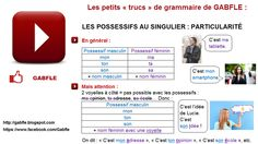 Les Adjectifs Possessifs, Smartphone, Timeline Photos, Facebook, Signs, Images, French, Learn French, Grammar