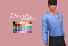 Douglas Toptwo pieces of CC in a day, is this a dream Just a really quick (and much needed) edit of the top that came in Laundry Day! Let me know if there are any problems. Before downloading, please take a moment to read my TOU - You can find it...