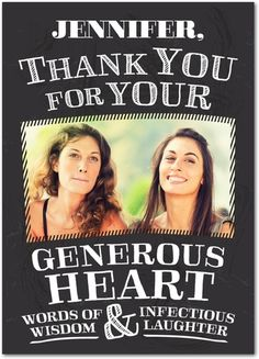 Generous Gifts - Thank You Greeting Cards from Treat.com