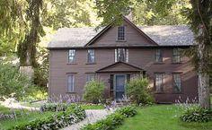 Orchad House, el hogar de Louise May Alcott