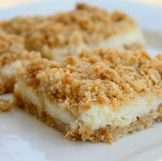 Tangy, creamy, crunchy….delicious! Creamy Lemon Crumb Squares from the Pioneer Woman Ingredients 1 ⅓ cup all-purpose flour ½ teaspoons salt 1 teaspoon baking powder 1 stick (1/2 cup) butter, slightly...