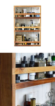 For all your modern-day magic potions (we're talking lotions, toners, and sweet-smelling soaps), this cabinet has an old-school quality we can't get enough of. Made of reclaimed cypress wood that's res...  Find the Reclaimed Apothecary Cabinet, as seen in the Vintage Industrial Bath Collection at http://dotandbo.com/collections/vintage-industrial-bath?utm_source=pinterest&utm_medium=organic&db_sku=89779