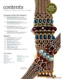 "Photo from album ""Beadwork Dec-Jan on Yandex. Bead Embroidery Jewelry, Beaded Bracelet Patterns, Beading Patterns, Beaded Bracelets, Diy Jewelry Tutorials, Beading Tutorials, Seed Bead Jewelry, Beaded Jewelry, Seed Beads"