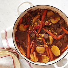 20-Minute Ancho Beef Stew
