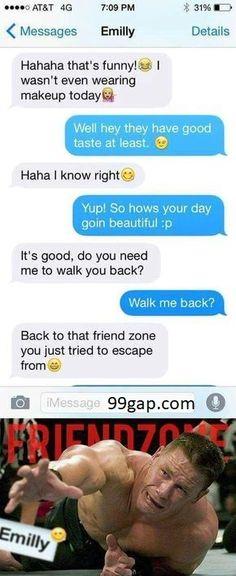 Hilarious Text About Girl vs.Friendzone