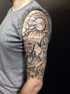 Half Sleeve Tattoo For Men. www. http://forcreativejuice.com/cool-sleeve-tattoo-designs/   tatuajes | Spanish tatuajes  |tatuajes para mujeres | tatuajes para hombres  | diseños de tatuajes http://amzn.to/28PQlav
