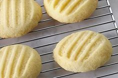 Melt-in-Your-Mouth Shortbread Cookies- Does it get any sweeter than classic shortbread cookies? With a soft, crumbly texture that just melts in your mouth, these cookies can be enjoyed as is or enhanced with a variety of flavours and decorations.