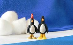 """Movie Night BNS Treasury Challenge #67  """"Wallace & Gromit: The Wrong Trousers"""" by Joan Hahn on Etsy"""