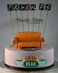 friends tv show birthday cake Best Friend Birthday Surprise, Friends Birthday Cake, Friends Cake, 14th Birthday, Cool Birthday Cakes, Birthday Cupcakes, Birthday Ideas, Diy Birthday, Birthday Quotes
