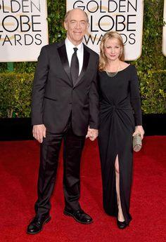 Golden Globes 2015 Red Carpet Arrivals | J.K. Simmons ('Whiplash')