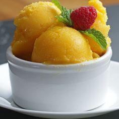 3-Ingredient Mango Sorbet 🍨