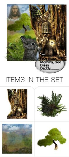 """He is there for all things"" by barebear1965 ❤ liked on Polyvore featuring art"
