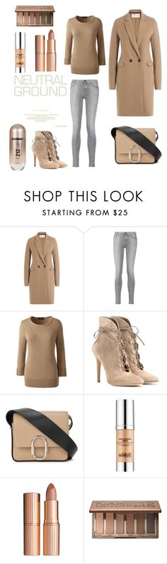 """""""Untitled #375"""" by elizabeth-buttery on Polyvore featuring Harris Wharf London, 7 For All Mankind, Lands' End, Gianvito Rossi, 3.1 Phillip Lim, Carolina Herrera, Estée Lauder, Charlotte Tilbury and Urban Decay"""