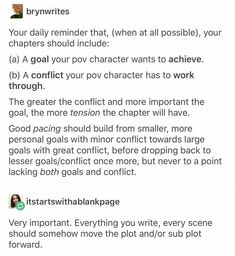 This is a great reminder. And it's so clearly explained--essential writing advice. Creative Writing Tips, Book Writing Tips, Writing Words, Writing Resources, Writing Help, Writing Skills, Writing Ideas, Writing Guide, Writer Tips
