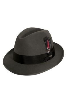 bbb9b55ef6e Scala  Classico  Wool Felt Fedora available at  Nordstrom Dobbs Hats