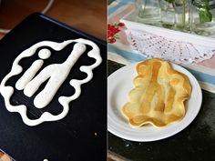 Pancake art...... this looks fun!