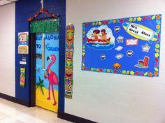 ocean/ beach theme k2 classroom | State of the Classroom Address: Ocean Themed Updates