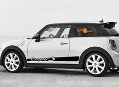 *NEW UK* Mini Cooper S Keyring Chain Clubman Austin John Cooper Works Countryman