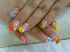 Cute Acrylic Nail Designs Pictures and Ideas 2015 for more designs and instructions visit http://nailartpatterns.com/acrylic-nail-designs/