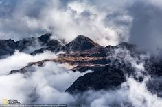 'The Gathering of Clouds' by Piotr Fedorcyzk: Breathtaking view from Schwarzstockli over this spectacular natural border of cantons of Glarus and St. Gallen, Switzerland, as seen on an Autumn weekend trek in early October 2015. All after being chased, caught up and left behind by that glorious mist that hopped from one valley to another, leaving me with this frame to awe at