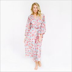 Maxi Robe. Moonflower and Pivione. { LIMITED EDITION }