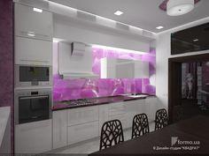 """Дизайн-проект квартиры """"Премьер"""", Дизайн-студия """"КВАДРАТ"""", Кухня, Дизайн интерьеров Formo.ua"""