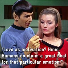 Remembering Spock's Wit & Wisdom in 17 Pictures Scotty Star Trek, Star Trek Spock, Star Trek Tos, Star Wars, Spock Quotes, Star Trek Images, I Dream Of Jeannie, Wit And Wisdom, Leonard Nimoy